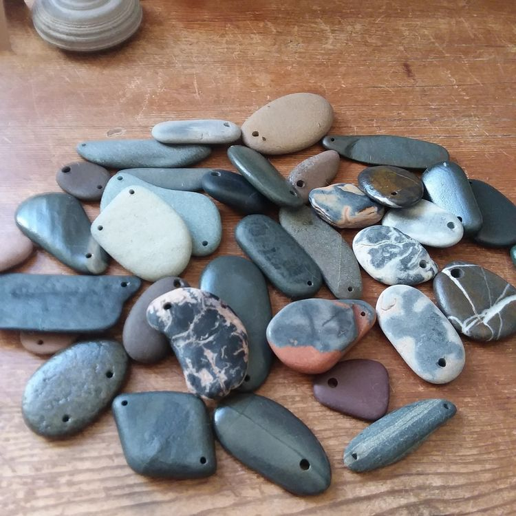 beach stones river rocks - wip, workinprogress - wearyourwild | ello