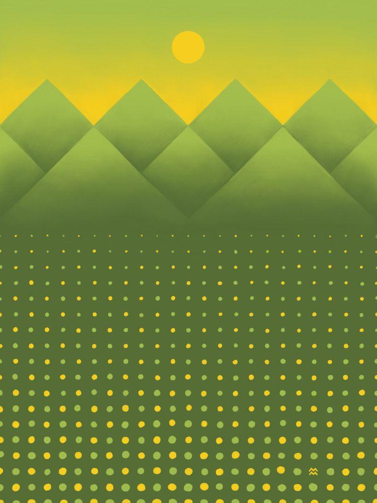 Series Geometric, grid-based la - miriamdraws | ello