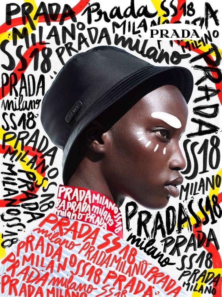 Practicing Prada Illustration P - andreearobescu | ello