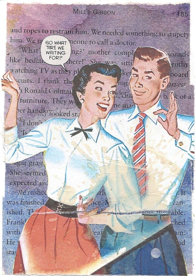 Romance, Miles Gibson - postcards - milesgibson   ello