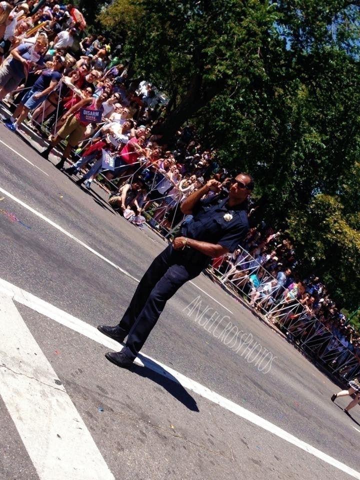 Cop Denver Pridefest  - denver, pride - angelcross | ello