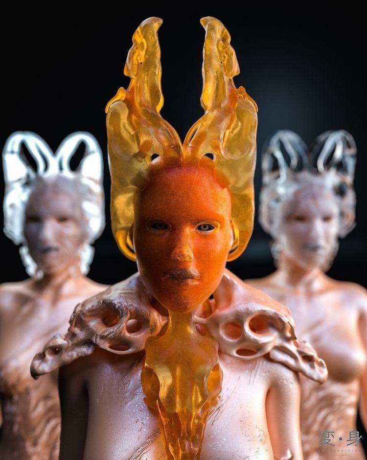 Shapeshifter: Amber Queen - skeeva | ello