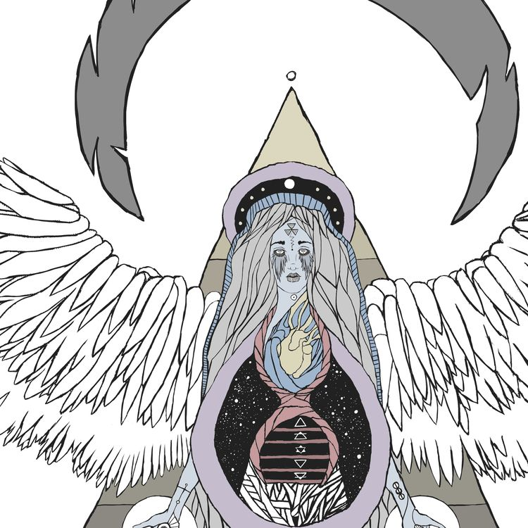 Exomnis - illustration, mystical - mana_burn | ello