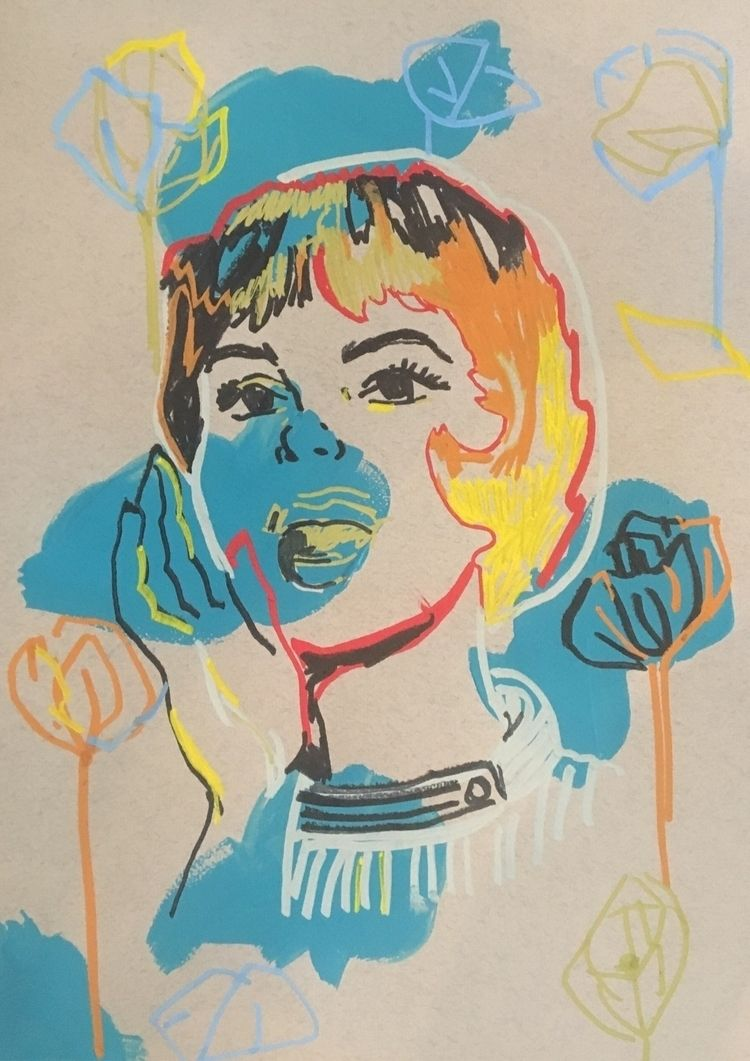 fast drawing woman pattern - art - birdyy | ello