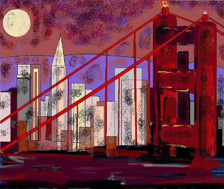 (1) cityscape, San Francisco mo - norabele | ello