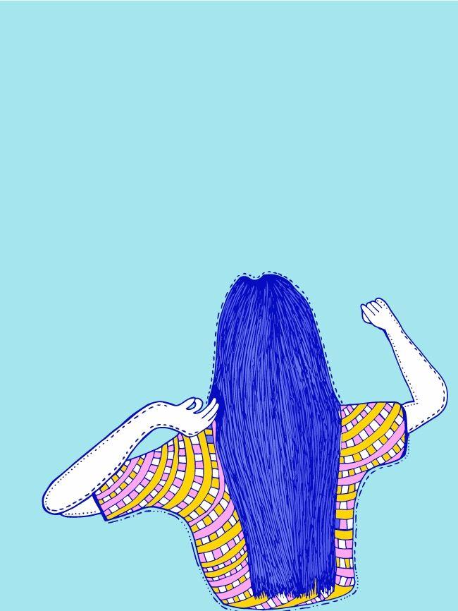 woman serie illustrations creat - eve-pajaros | ello