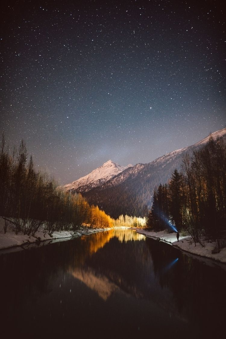 alaska, photography, astro, mountains - aphotosmith | ello