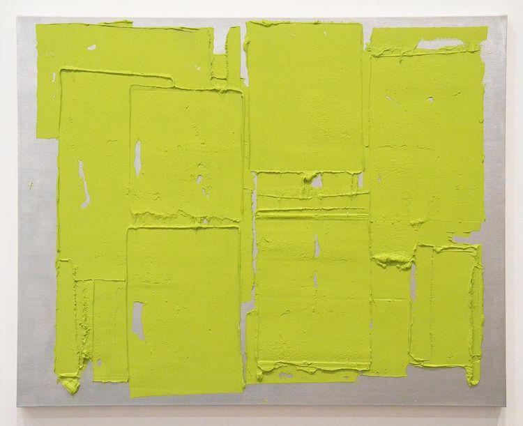 John current exhibition - green - anaispaws   ello