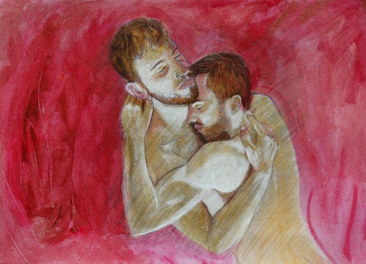 46 Acrylic Paper 29 cm 41 - painting - loic-le-phoque-fringant | ello