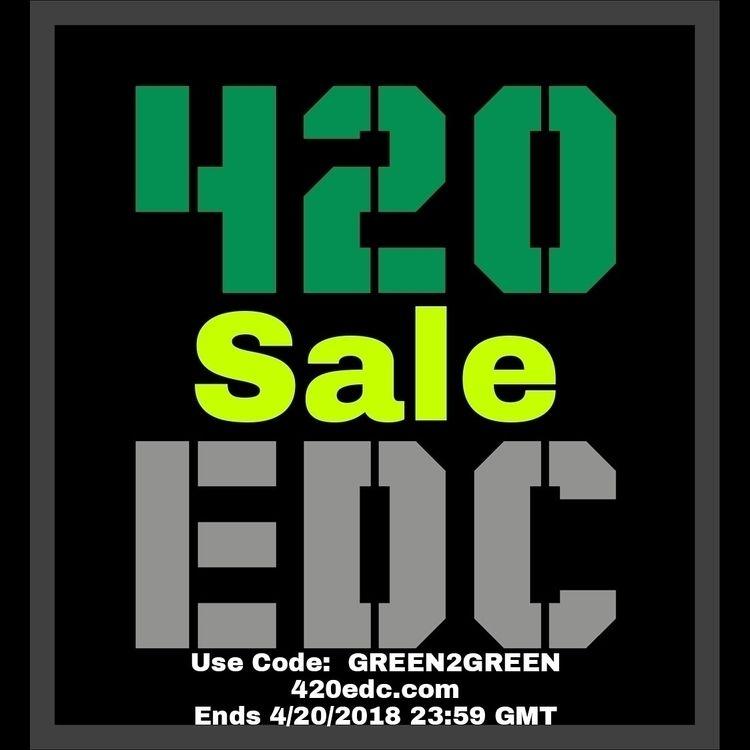 420Sale, LinkinBio, edc, EveryDayCarry - 420edc | ello