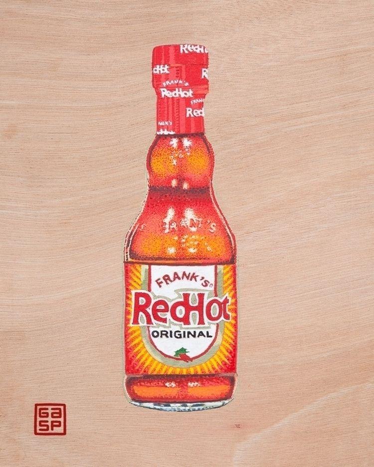 Red Hot. Acrylic wood - juanjogasp | ello
