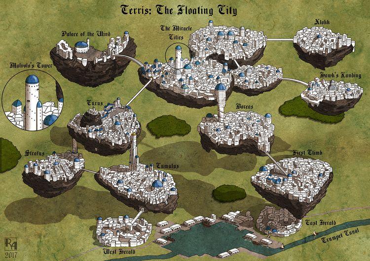 Terris - Commissioned map - robertaltbauer | ello