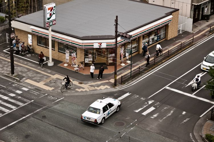 Matsuyama Ehime - seveneleven, taxi - hannesb | ello
