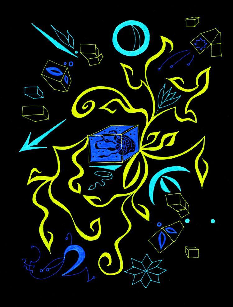 art, abstract - tomatoaftermath | ello