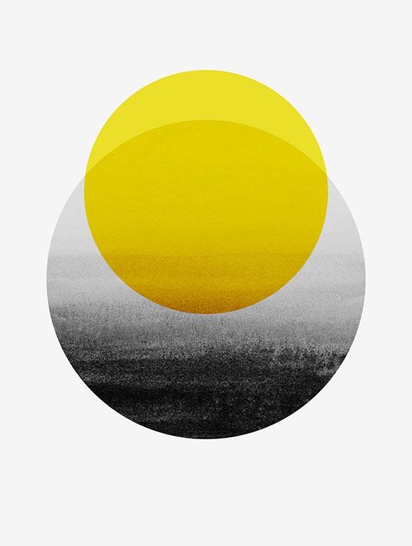 Sunrise, 2014 - art, abstract, circle - georgianaparaschiv | ello