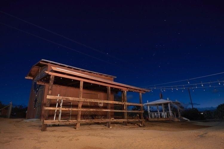 Long exposure Thunderbird Lodge - davidjschloss | ello