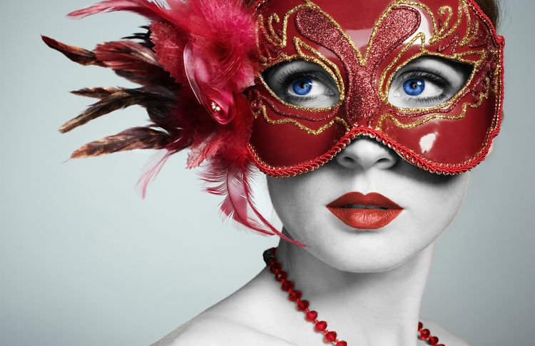 lady red mask - gerimar | ello
