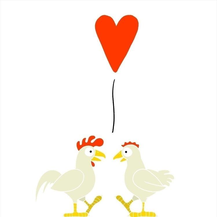 Chicken Love - juanjogasp   ello