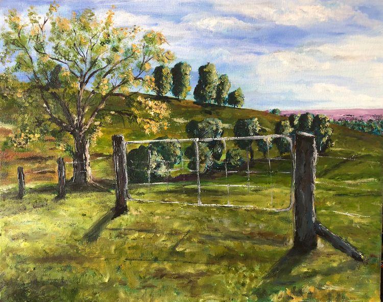 Farm Gate Hunter Valley. Oil ca - digibeta | ello