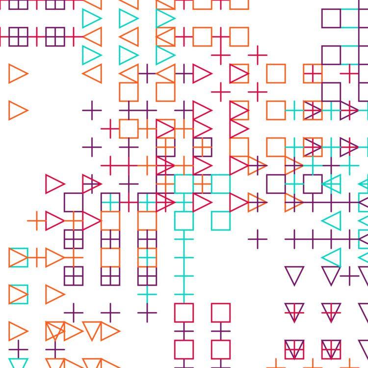 Geometric Shapes / 180324 - Processing - sasj | ello