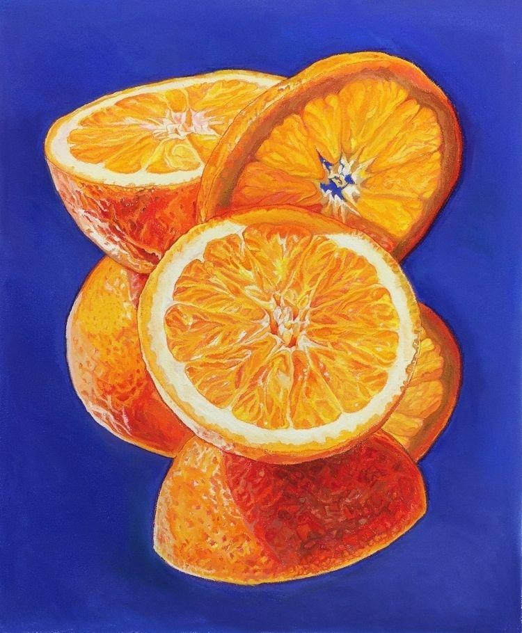 "Oranges Rhymes 22""x27"" Soft Pas - gemmadigrazia | ello"