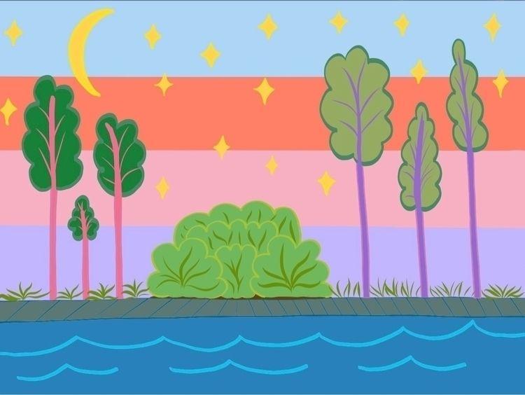 Drawing iPad Pro - art, illustration - cyncityart | ello