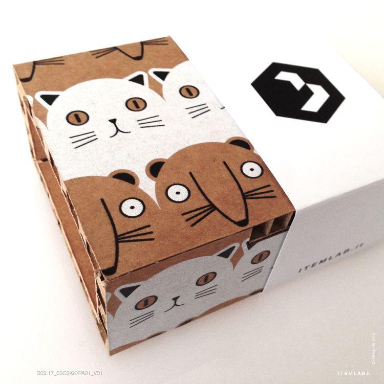 B03.17 KK V03 C2KK / MOUSE CAT  - itemlab_designstudio | ello
