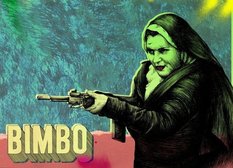 Bimbo 1 - 2018. Tinta collage d - fronkie | ello