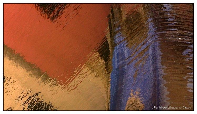 AQUA ABSTRACT - abstract, reflection - jsuassuna | ello