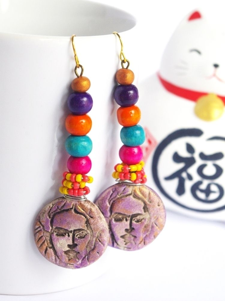Frida Kahlo inspired - frida, wood - cocoflower | ello