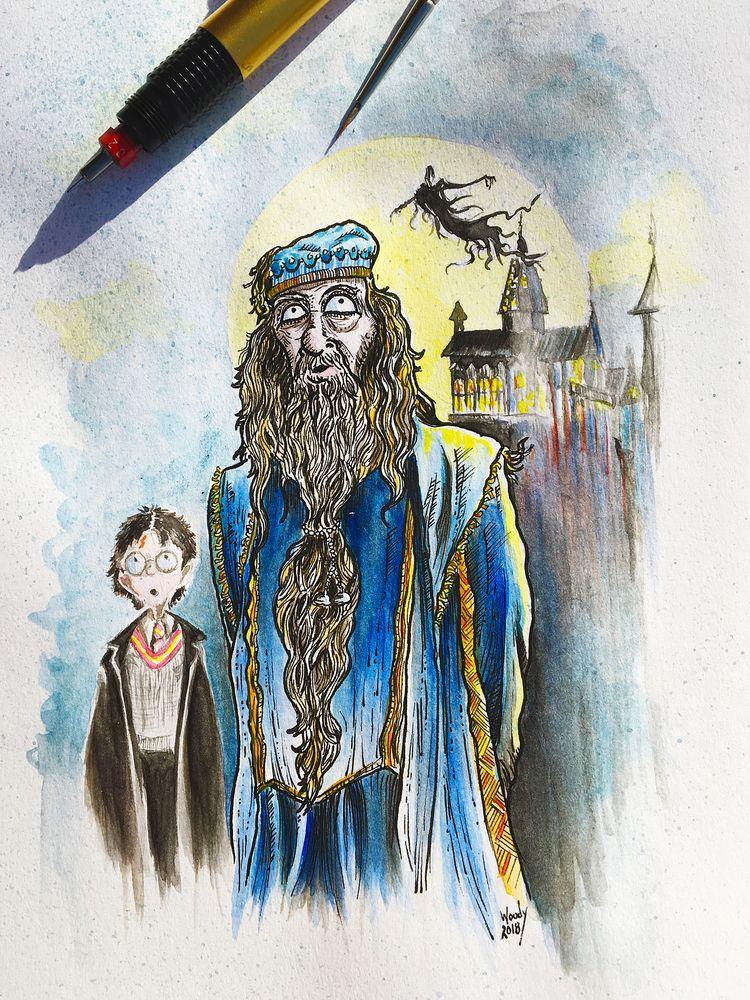 Random lines wash Harry - Dumbledore. - nephellim | ello