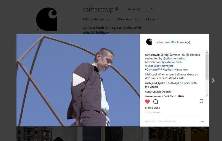 music sound design Carhartt WIP - davidlavaysse | ello