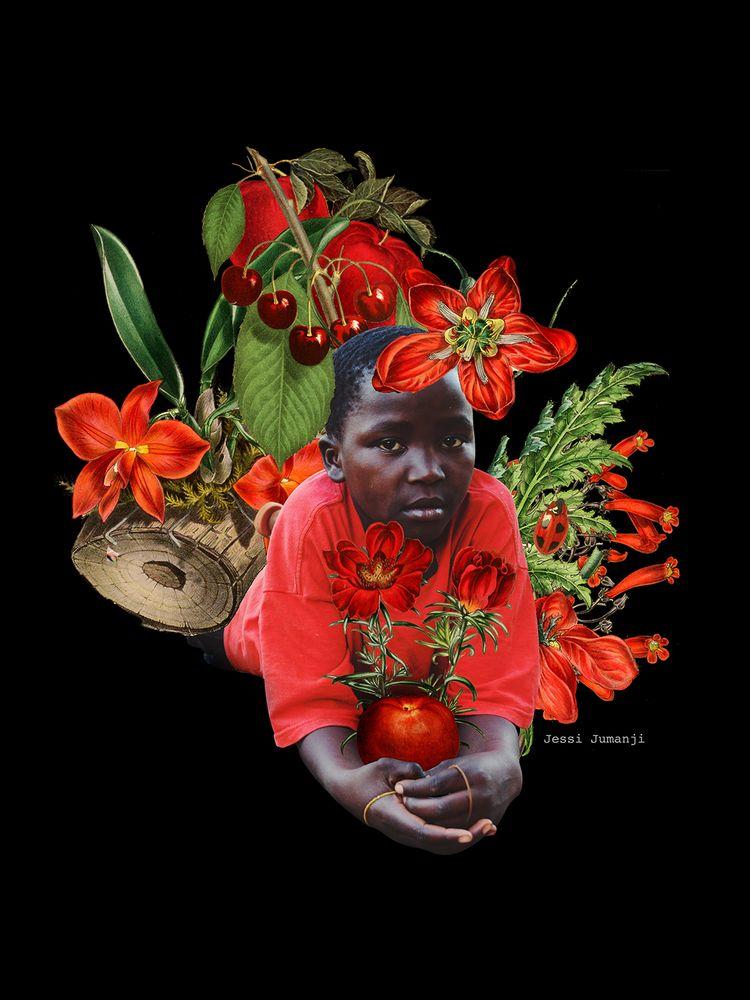 AfroChromatics pt.1 - Crimson K - jessijumanji | ello