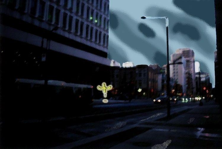 Calm Storm - montreal, downtown - mangekkojones   ello