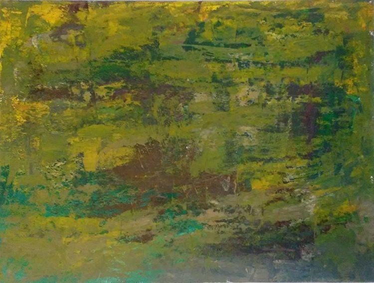 Forest Yellow 9x12 Oil Paper - robinccpoole | ello