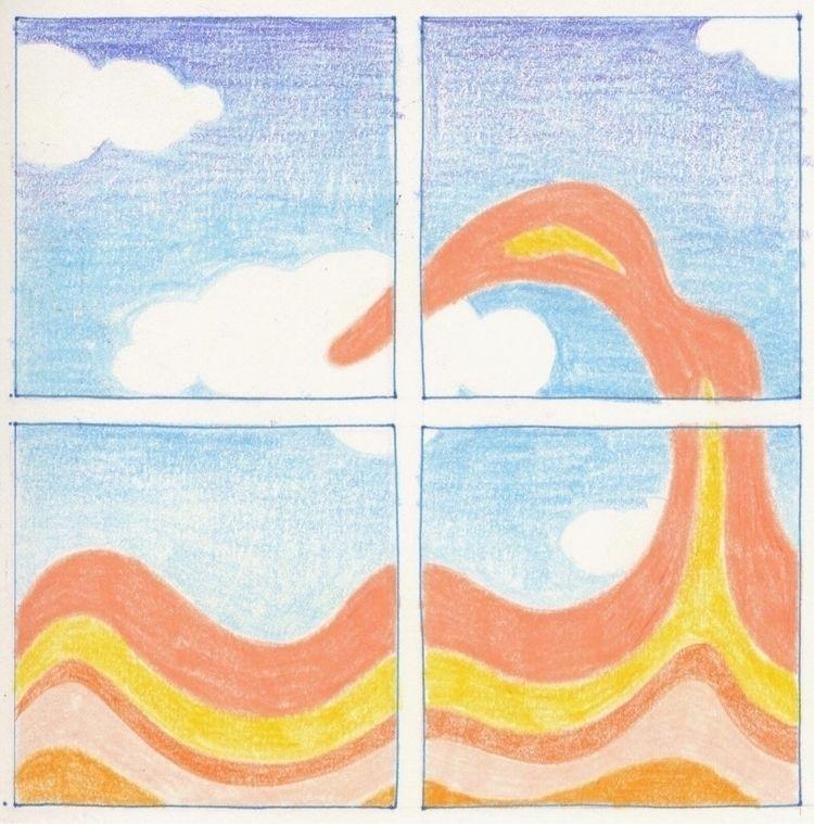 wave, drawing, sketch, illustration - ntruskey | ello