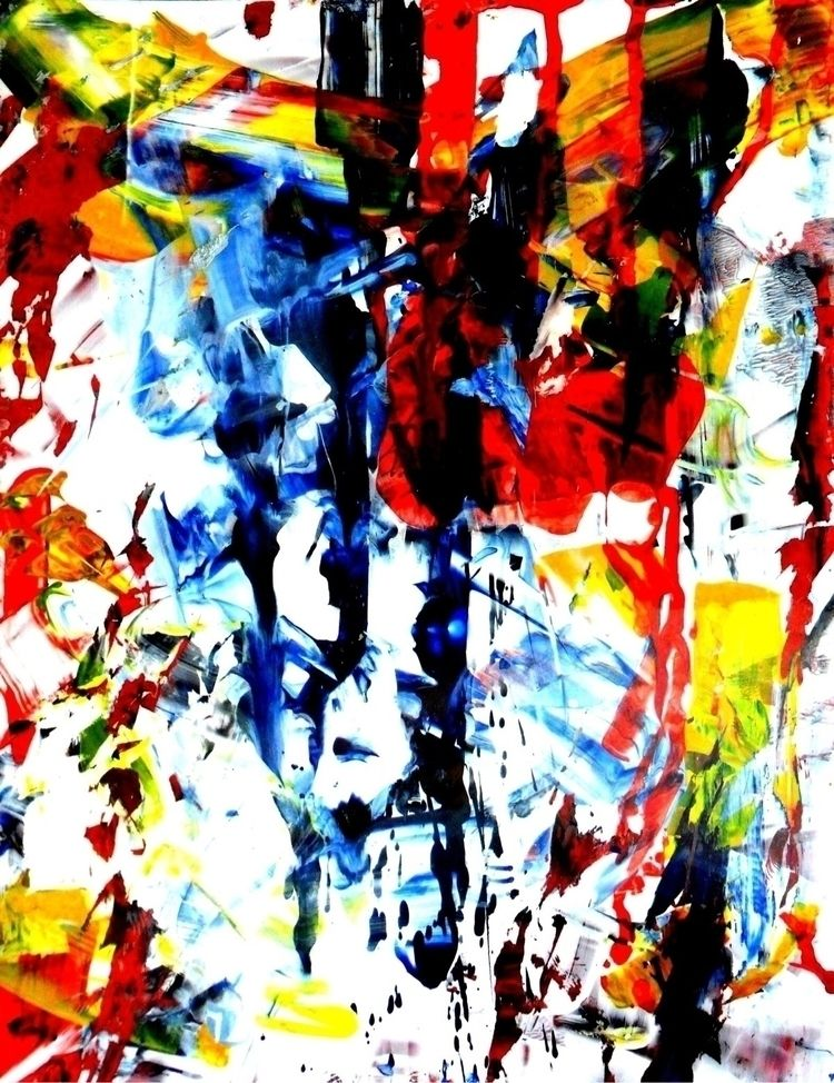 Abstract picture (2011), Acryli - robertoreyes | ello