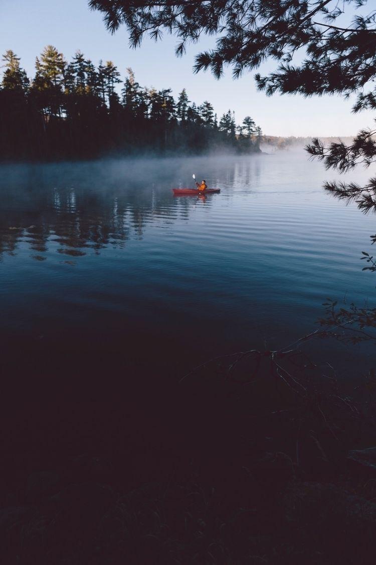 Sunrise paddle lake middle Main - brobinson7 | ello