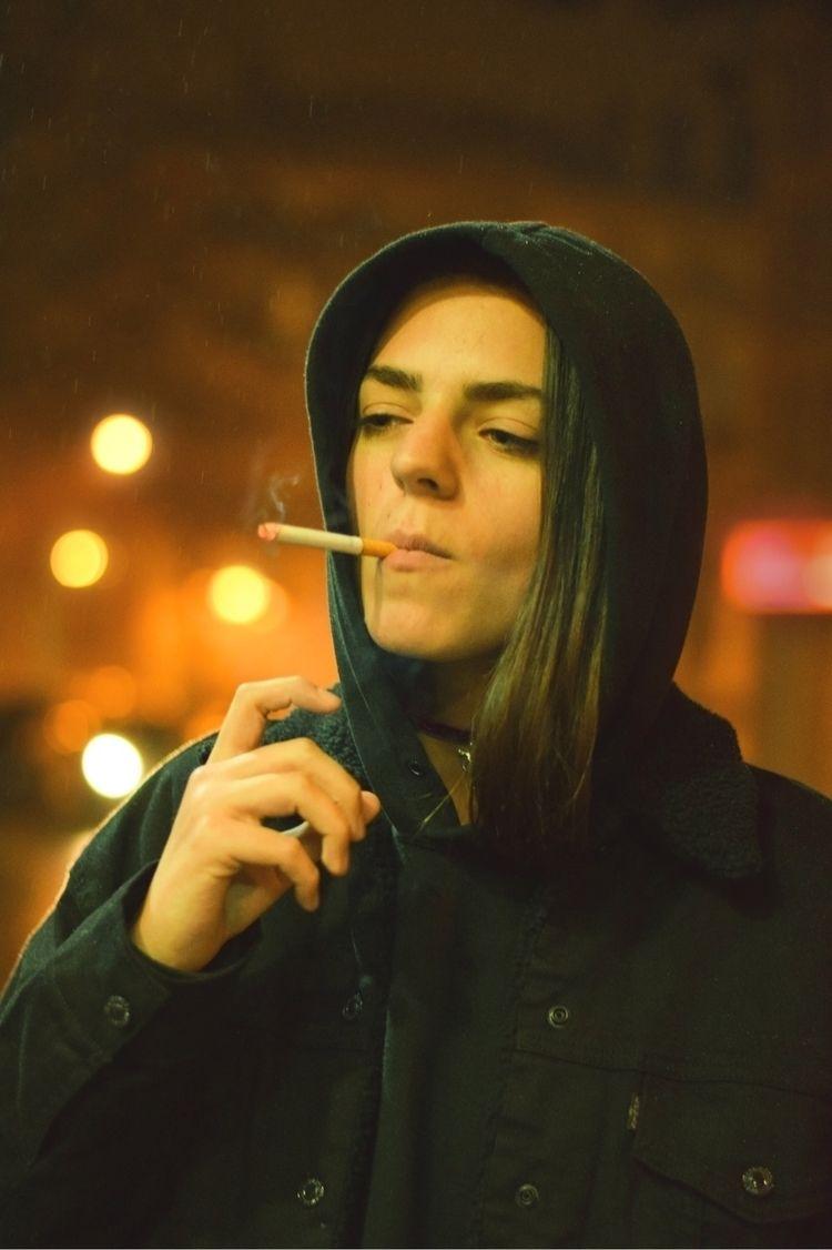 Raining smoking:droplet - art, photography - norikosykess | ello