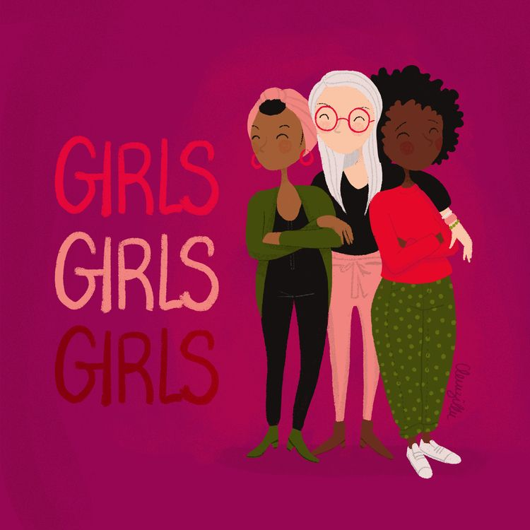 girls, beauty, sororite, friends - clemzillu | ello