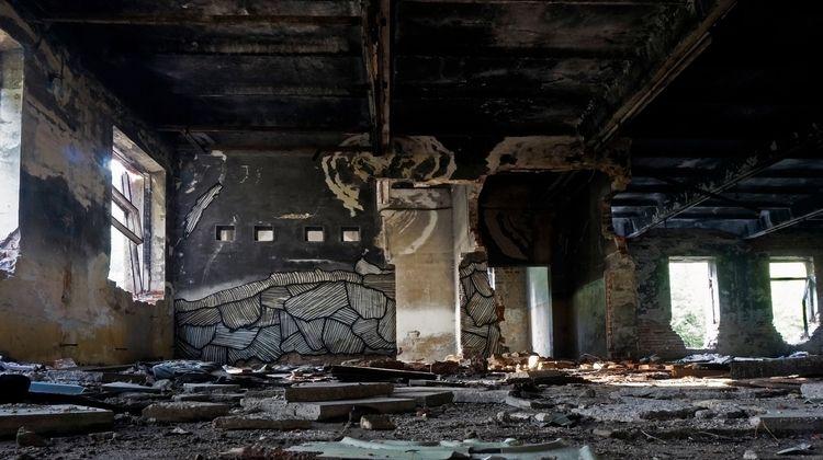 Ukraine 17 - streetart, mural, abandonedplaces - donforty | ello