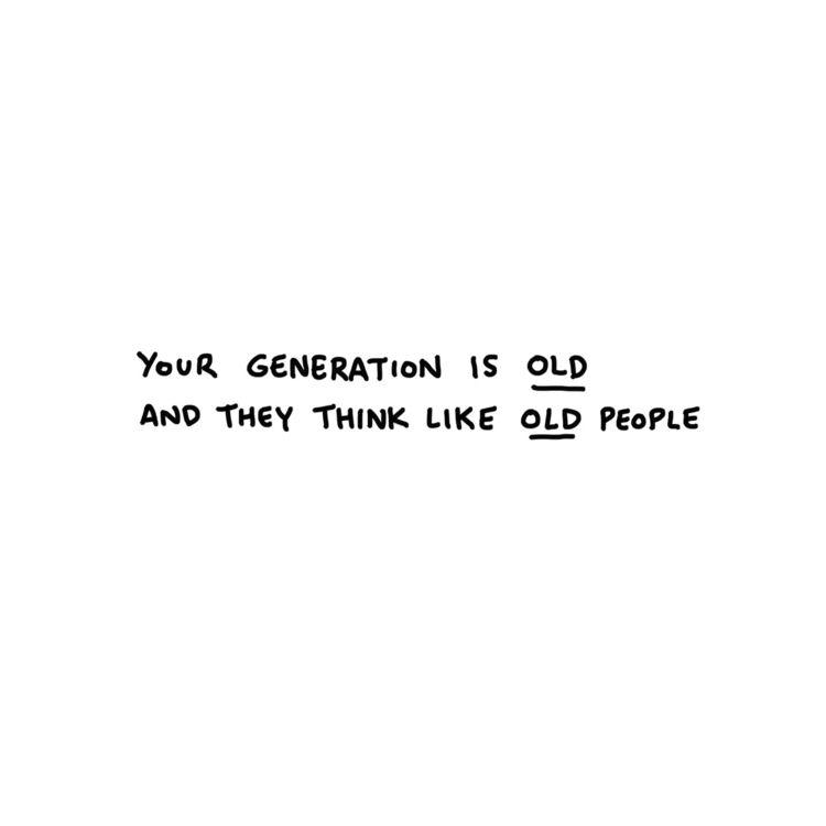 generation.⠀ .⠀ - people, life, illustration - javirroyo | ello