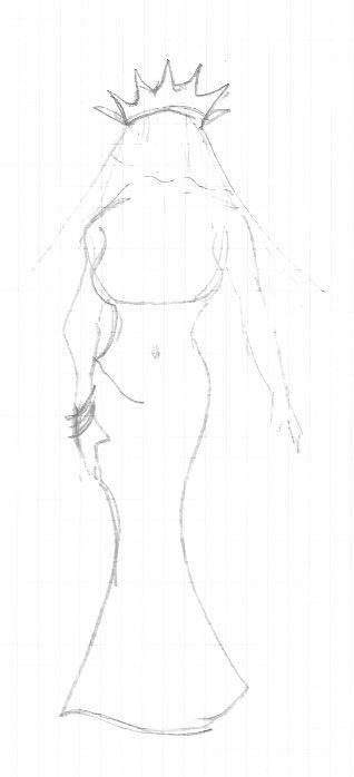 rendering veiled Lady Liberty m - emilydjackson | ello