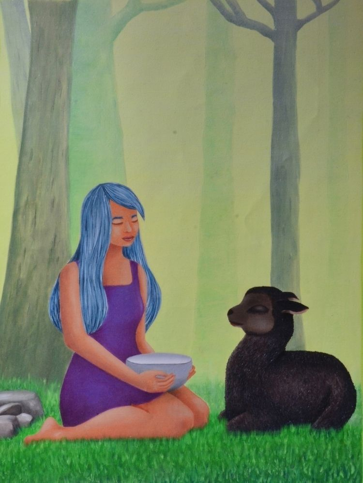 Black Sheep Dream, oil canvas 6 - gioadriana | ello