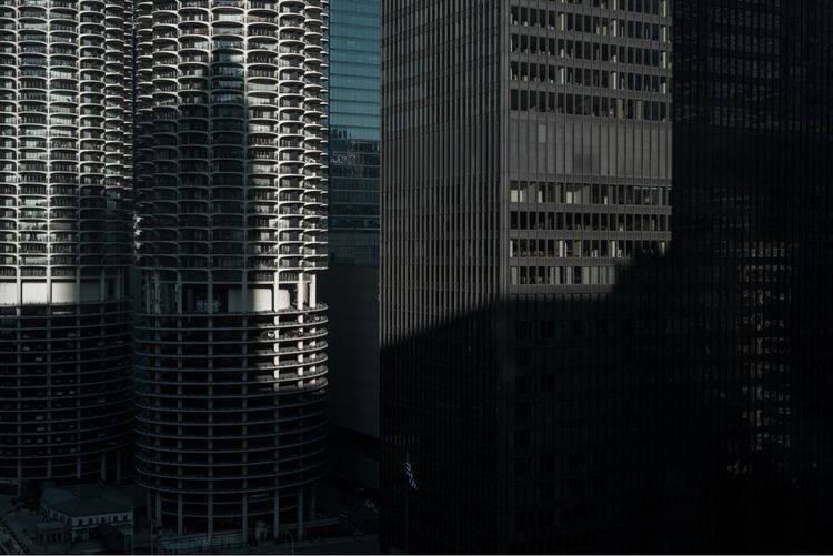 Chicago light shadows - chicago - courtneylefebre | ello