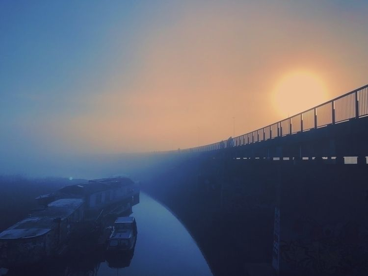 Bridge 54P mist morning - mrfrisby | ello