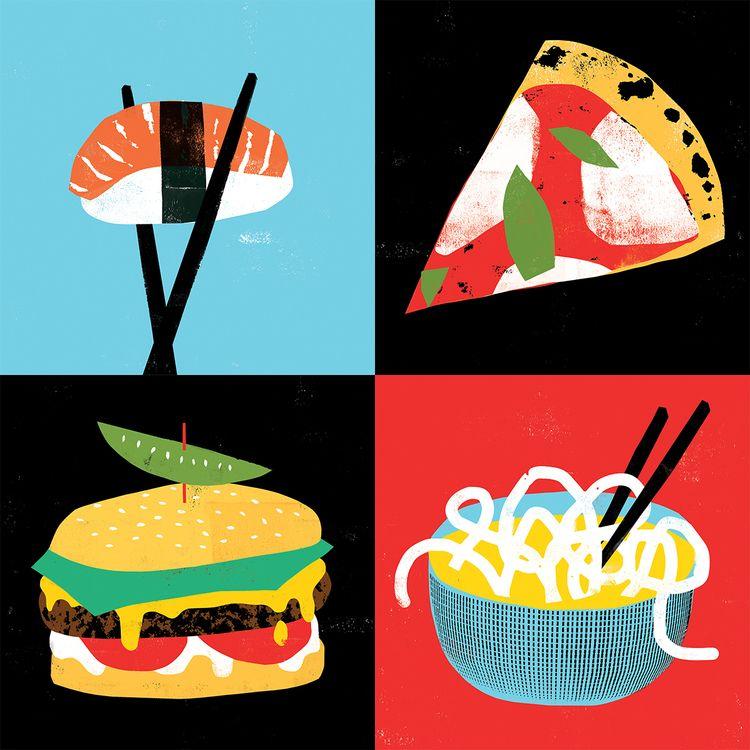 Food - illustration, grossillustration - grossillustration | ello