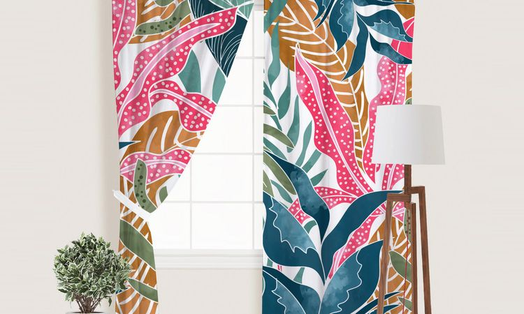 'Botanicalia' Window Curtains L - 83oranges | ello