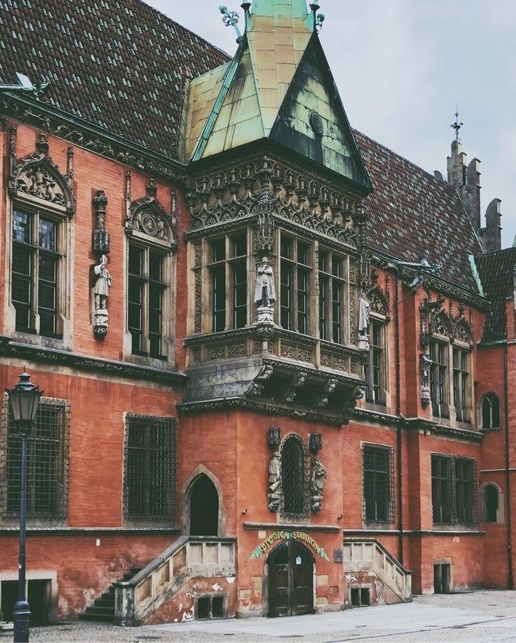 wroclaw, architecture, gothic - carzingan | ello