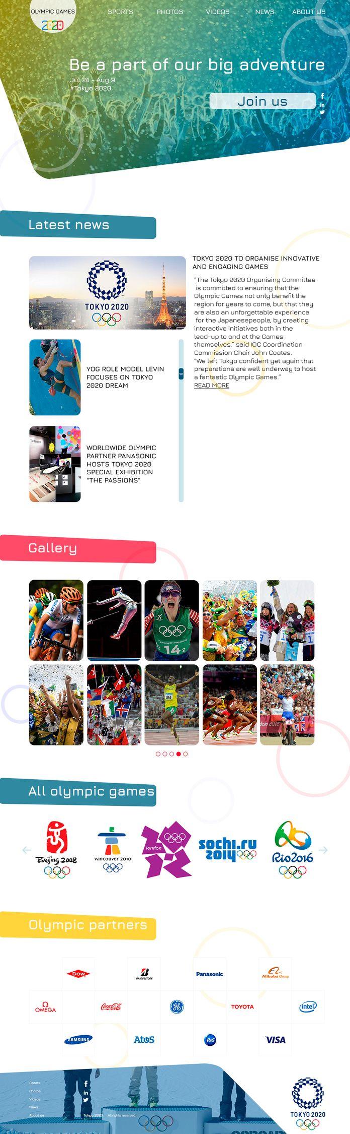 Olympic Games 2020 Blog - meristepanyan | ello